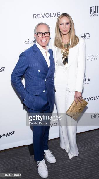 Tommy Hilfiger and Dee Ocleppo attend The Daily Front Row 7th Fashion Media Awards at The Rainbow Room at Rockefeller Center