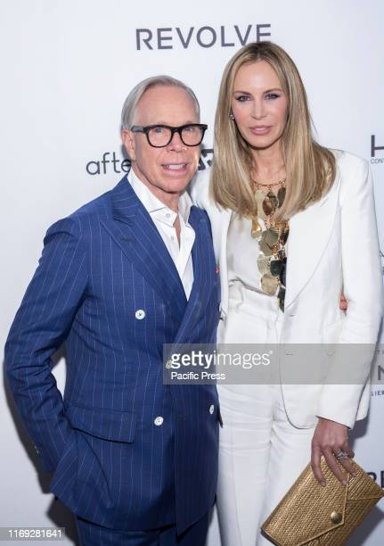 Tommy Hilfiger and Dee Ocleppo attend The Daily Front Row 7th Fashion Media Awards at The Rainbow Room at Rockefeller Center.