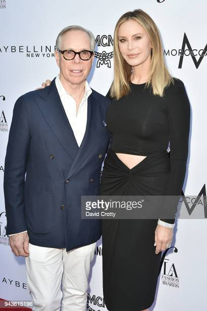 Tommy Hilfiger and Dee Ocleppo attend The Daily Front Row's 4th Annual Fashion Los Angeles Awards - Arrivals at The Beverly Hills Hotel on April 8,...