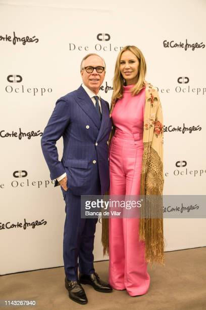 Tommy Hilfiger and Dee Ocleppo attend the Dee Ocleppo presentation at El Corte Ingles on April 17, 2019 in Marbella, Spain.