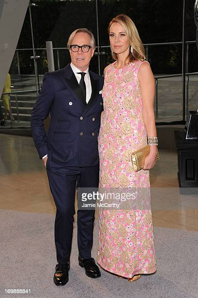 Tommy Hilfiger and Susie Hilfiger attend the 2013 CFDA Fashion Awards on June 3 2013 in New York United States