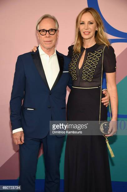 Tommy Hilfiger and Dee Ocleppo Hilfiger attend the 2017 CFDA Fashion Awards at Hammerstein Ballroom on June 5 2017 in New York City