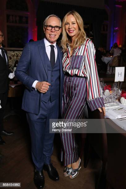 Tommy Hilfiger and his wife Dee Hilfiger attend the Tommy Hilfiger VIP Dinner in celebration of the 13th Zurich Film Festival on October 6 2017 in...