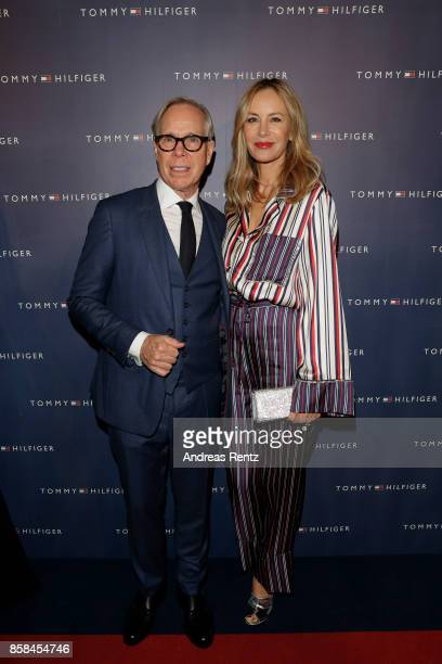 Tommy Hilfiger and his wife Dee Hilfiger attends the Tommy Hilfiger VIP Dinner in celebration of the 13th Zurich Film Festival on October 6 2017 in...