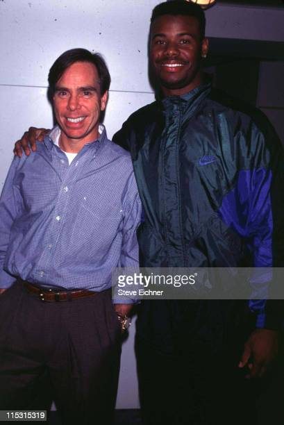 Tommy Hilfiger and Ken Griffey Jr during Tommy Hilfiger and Ken Griffy Jr 1994 at Hilfiger's offices in New York City New York United States