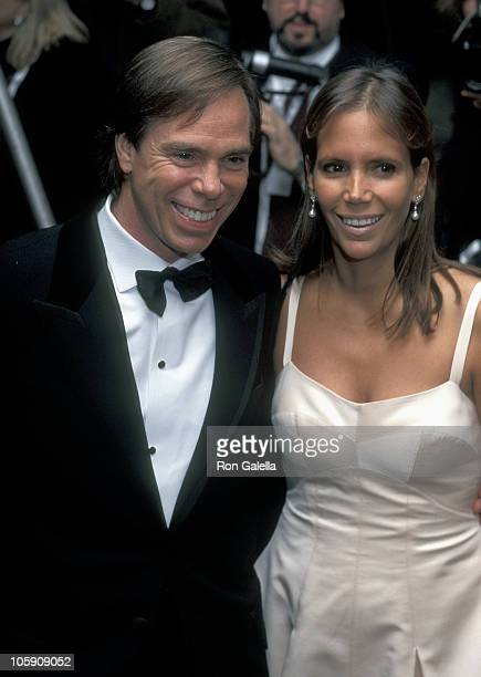 Tommy Hilfiger and wife Susie Hilfiger during 1995 Costume Institute Gala at Metropolitan Museum of Art in New York City New York United States