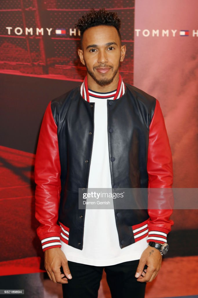 Tommy Hilfiger announces Formula One World Champion Lewis Hamilton as global ambassador for Tommy Hilfiger Men's at the Tommy Hilfiger Store on March 13, 2018 in London, England.