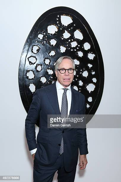 Tommy Hilfiger attends a Contemporary Art party hosted by Tommy Hilfiger Dylan Jones and Sotheby's at Sotheby's on October 12 2015 in London England