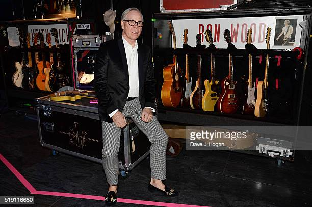 Tommy Hilfiger attends an after party for 'The Rolling Stones Exhibitionism' at Saatchi Gallery on April 4 2016 in London England