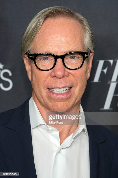Tommy Hilfiger attends Macy's Presents Fashion's Front Row during Spring 2016 New York Fashion Week at The Theater at Madison Square Garden on...