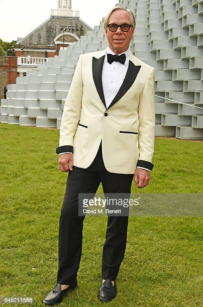 Tommy Hilfiger attends The Serpentine Summer Party cohosted by Tommy Hilfiger on July 6 2016 in London England