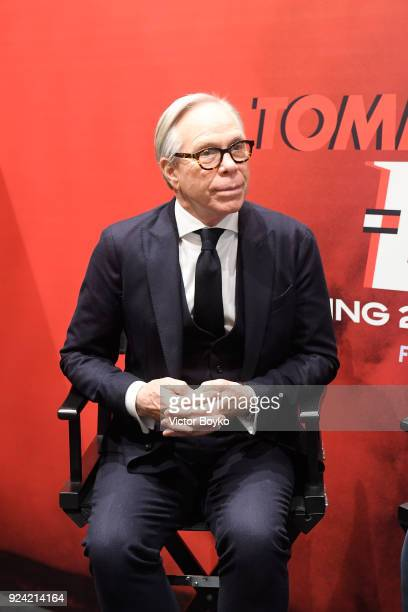 Tommy Hilfiger attends the Tommy Hilfiger Drive Now show during Milan Fashion Week Fall/Winter 2018/19 on February 25 2018 in Milan Italy
