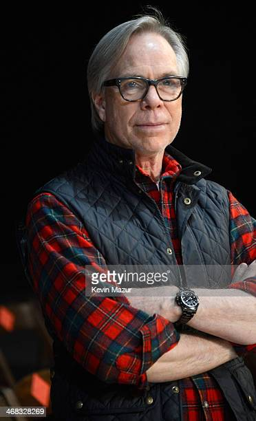 Tommy Hilfiger before the Tommy Hilfiger Presents Fall 2014 Women's Collection on February 10, 2014 in New York, United States.