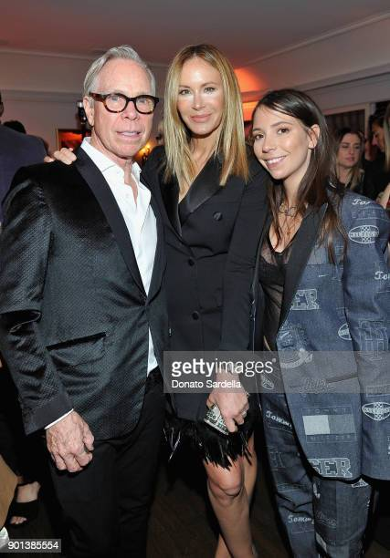 Tommy Hilfiger Dee Ocleppo and Ally Hilfiger attend W Magazine's Celebration of its 'Best Performances' Portfolio and the Golden Globes with Audi...
