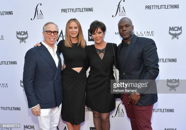 Tommy Hilfiger Dee Ocleppo Kris Jenner and Corey Gamble attend The Daily Front Row's 4th Annual Fashion Los Angeles Awards at Beverly Hills Hotel on...