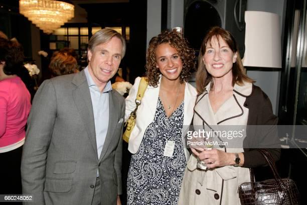 Tommy Hilfiger Elisabeth Burack and Betsy Hilfiger attend TOMMY HILFIGER hosts The Fashion Scholarship Fund's 2009 Intern Social at Tommy Hilfiger...