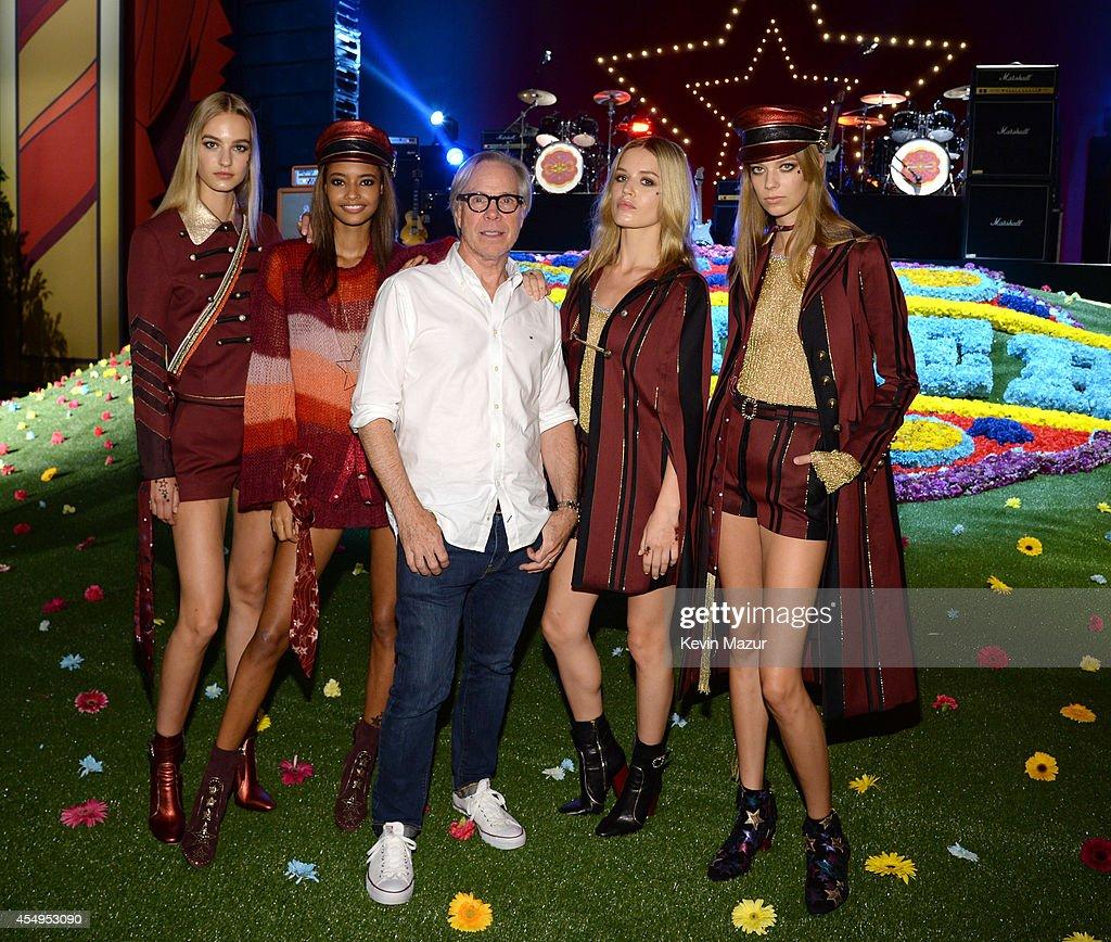 Tommy Hilfiger Women's - Backstage - Mercedes-Benz Fashion Week Spring 2015 : News Photo