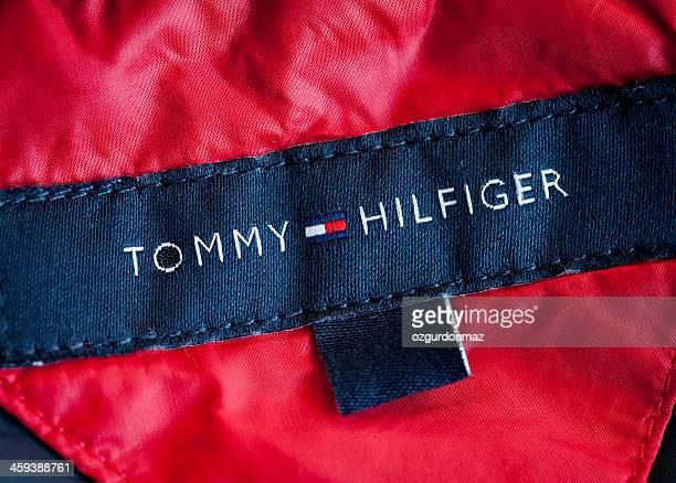 tommy hilfiger logo - tommy hilfiger designer label stock pictures, royalty-free photos & images