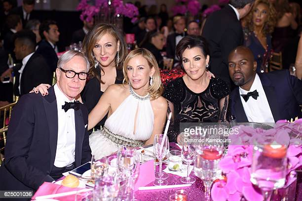 Tommy Hilfiger Lorraine Schwartz Dee Ocleppo Kris Jenner and Corey Gamble attend the 2016 Angel Ball hosted by Gabrielle's Angel Foundation For...