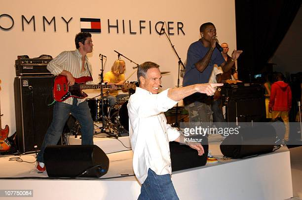 Tommy Hilfiger with Pharrell Williams of NERD