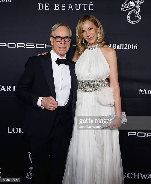 Tommy Hulfiger and Dee Hilfiger attend the 2016 Angel Ball at Cipriani Wall Street on November 21 2016 in New York City