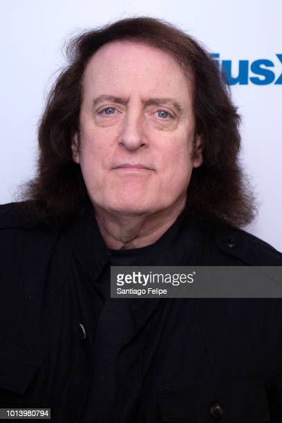 Tommy James visits SiriusXM Studios on August 9 2018 in New York City