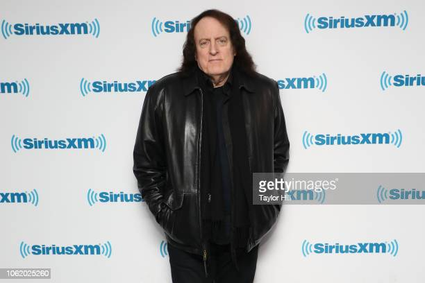 Tommy James visits the SiriusXM Studios on November 15 2018 in New York City