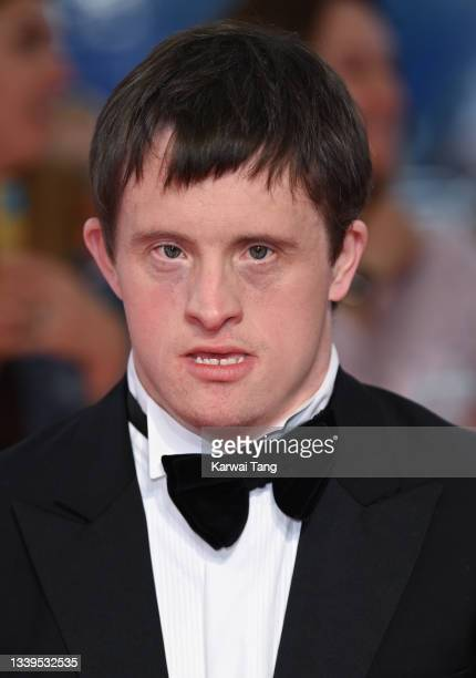 Tommy Jessop attends the National Television Awards 2021 at The O2 Arena on September 09, 2021 in London, England.