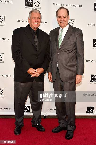 Tommy John and Former Governor Thomas Kean attend the 6th Annual Freeing Voices Changing Lives Benefit Gala at Tribeca Rooftop on June 11 2012 in New...