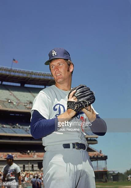 Tommy John of the Los Angeles Dodgers poses for a portrait John played for the Dodgers from 19721978