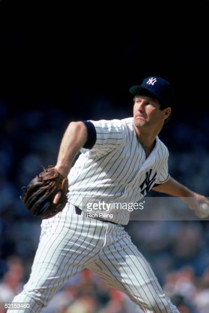 Tommy John of the New York Yankees winds up the pitch during a game in 1979 at Yankee Stadium in the Bronx, New York.