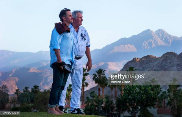 Tommy John, right, the 4 time All Star Major League Baseball pitcher who won 288 games, and his son Tommy John III, a chiropractor with a sports...
