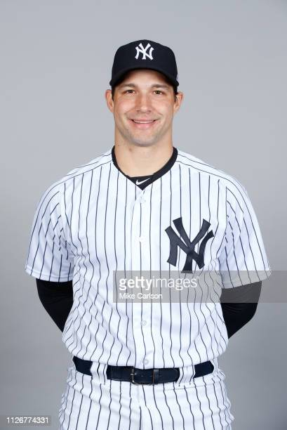 Tommy Kahnle of the New York Yankees poses during Photo Day on Thursday February 21 2019 at George M Steinbrenner Field in Tampa Florida