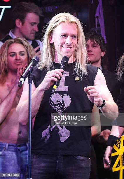 Tommy Kessler attends 'Rock Of Ages' Final Performance On Broadway at Helen Hayes Theatre on January 18 2015 in New York City