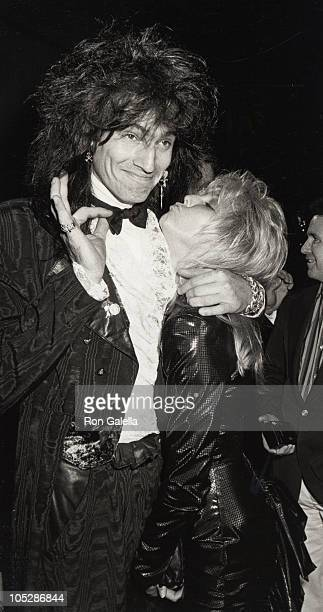 Tommy Lee and Heather Locklear during 2nd Annual Stuntman Awards March 22 2003 at KTLA Studios in Los Angeles California United States