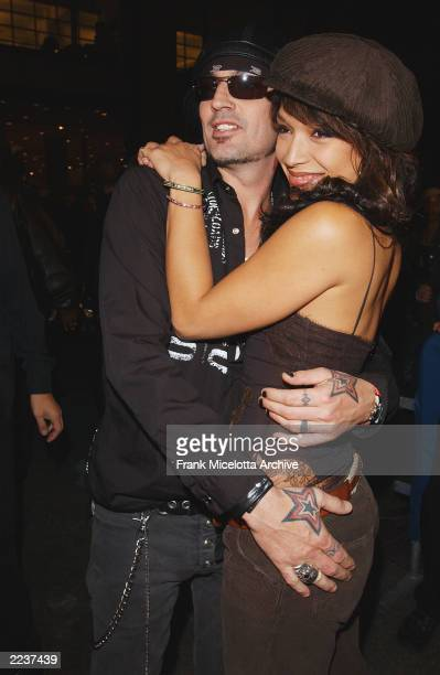 Tommy Lee and Mayte arrives at the 2002 VH1 Vogue Fashion Awards at Radio City Music Hall in New York City, 10/15/02. Photo by Frank...