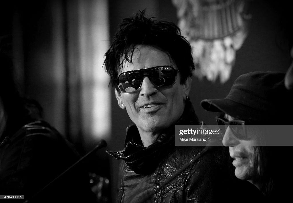 Tommy Lee attends the last ever European press conference for Motley Crue at Law Society on June 9, 2015 in London, England.