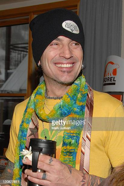 Tommy Lee during 2006 Sundance Film Festival Volkswagen Lounge Produced by Backstage Creations at VW Lounge in Park City Utah United States