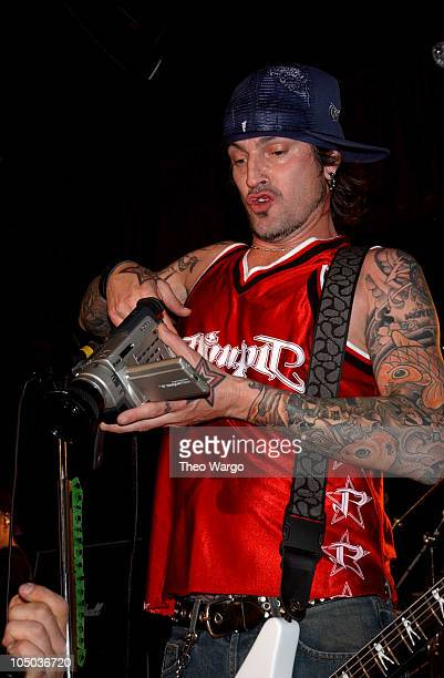 Tommy Lee during Penthouse Magazine Presents Tommy Lee in Concert at BB King's in New York City New York United States