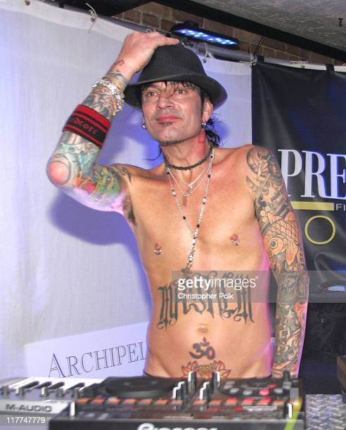 Tommy Lee *Exclusive Coverage* during 2006 Sundance Film Festival Premiere Film Music Lounge Party Day 4 at Premiere Lounge in Park City Utah United...