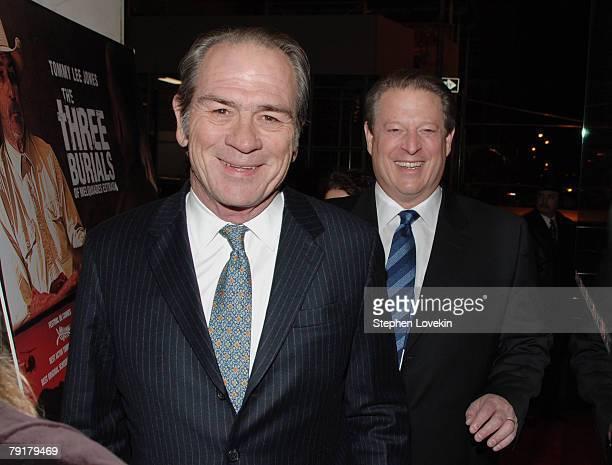Tommy Lee Jones and Al Gore