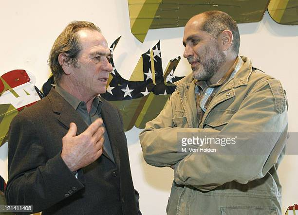 Tommy Lee Jones and Guillermo Arriaga during The 9th Annual SCAD Savannah Film Festival Porch Talk with Guillermo Arriaga and Tommy Lee Jones Inside...
