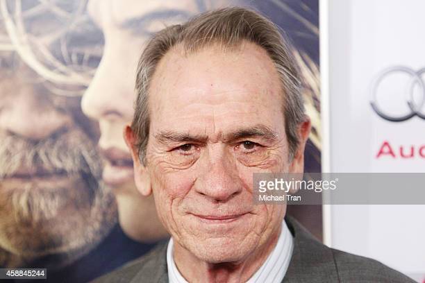 Tommy Lee Jones arrives at AFI FEST 2014 Presented By Audi The Homesman premiere held at Dolby Theatre on November 11 2014 in Hollywood California