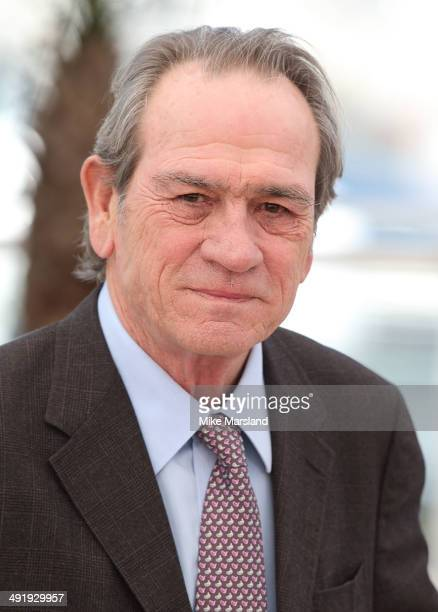 Tommy Lee Jones attends The Homesman photocall at the 67th Annual Cannes Film Festival on May 18 2014 in Cannes France