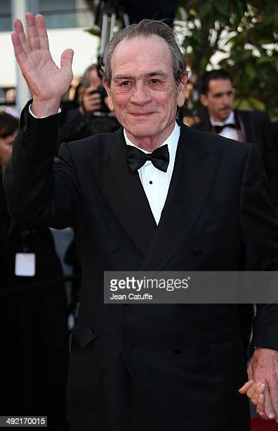 Tommy Lee Jones attends 'The Homesman' premiere during the 67th Annual Cannes Film Festival on May 18 2014 in Cannes France