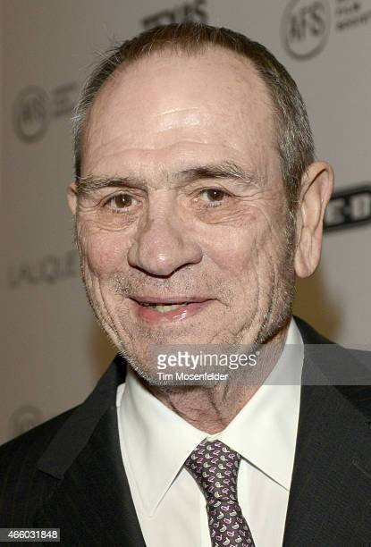 Tommy Lee Jones attends the Texas Film Awards at Austin Studios on March 12 2015 in Austin Texas