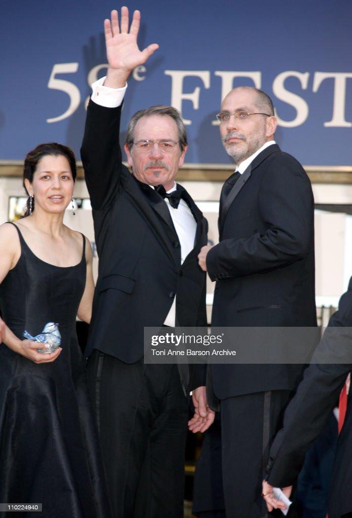 "2005 Cannes Film Festival - ""The Three Burials of Melquiades Estrada"" Premiere"