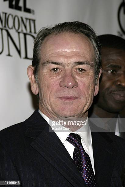 Tommy Lee Jones during 21st Annual Great Sports Legends Dinner at The Waldorf Astoria in New York City, New York, United States.