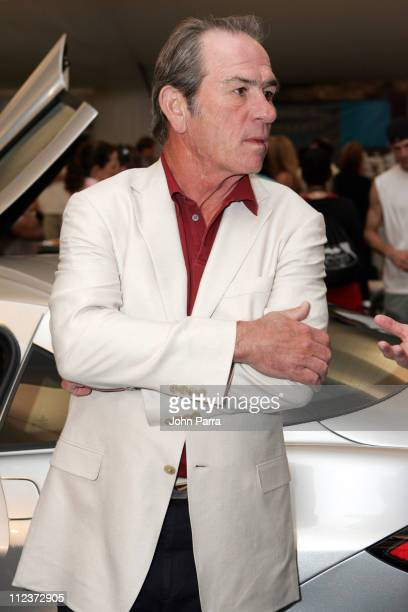 Tommy Lee Jones during MercedesBenz ACE for a Cure Fashion Extravaganza at the NASDAQ 100 Open at Crandon Park Tennis Cente in Key Biscayne Florida...
