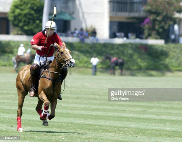 Tommy Lee Jones during Tommy Lee Jones' San Saba Defeats Everglades in the Robert Skene Trophy Consolation Finals at Santa Barbara Polo and Racquet...